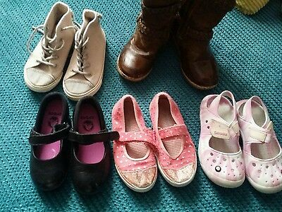 girl winter summer shoes bundle boots size 8 and 9 school crocs and more