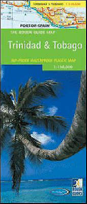 The Rough Guide Map Trinidad and Tobago, Rough Guides, Used; Good Book