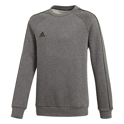 adidas Core 18 Sweatshirt Kinder Trainingspulli Fussball grey NEU