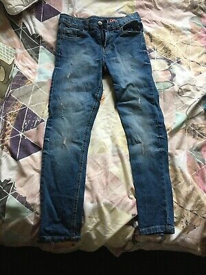 Bluezoo Debenhams Skinny Jeans Worn Once Age 10 Great Condition Blue Denim