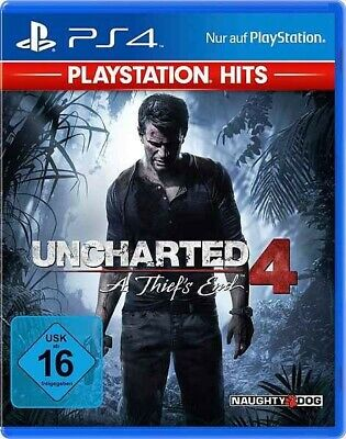 Uncharted 4: A Thief's End (Playstation Hits) - [PS4] - (Neu & OVP)