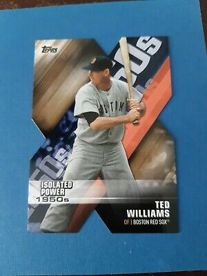 Ted Williams 2020 Topps Series 1 DECADE OF DOMINANCE DIE CUT #16 RED SOX  32/50