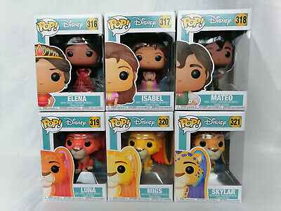 FUNKO POP DISNEY: ELENA OF AVALOR- ELENA EXC #322 *UK STOCK* SCEPTER OF LIGHT