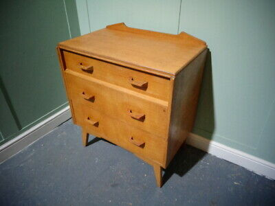Retro G Plan Oak Chest Of Drawers Vintage E Gomme Chest Of Draws Mid Century