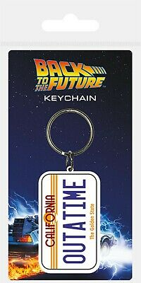 Back To The Future License Plate Official Licensed Brand New Keychain Novelty