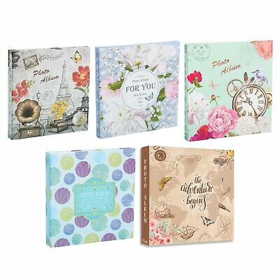 Large Self Adhesive Photo Album Hold Various Sized Picture Up to A4 ASSORTED X1