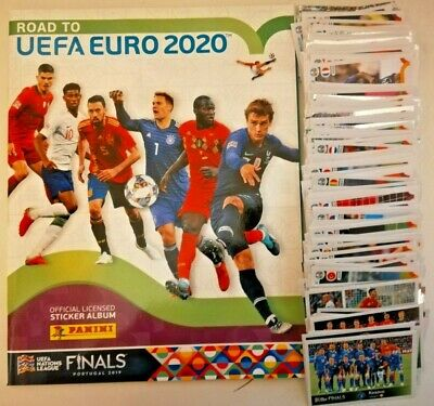 Panini Road To Euro 2020 Stickers - Qtys Of 10,20,30,40,50, Loose Stickers