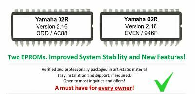 Yamaha 02r - Versione 2.16 Firmware OS Upgrade Update Eprom For O2R Mixer Record