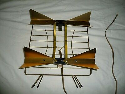 Vintage Bow Tie Antenna for UHF Broadcasts