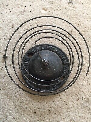 Antique Ingraham Gingerbread Clock Strike Bad And Chime Coil