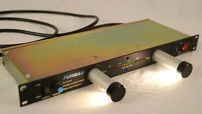 FURMAN POWER CONDITIONER rack mount with LIGHTS  Great Condition  BRILLIANT !!!