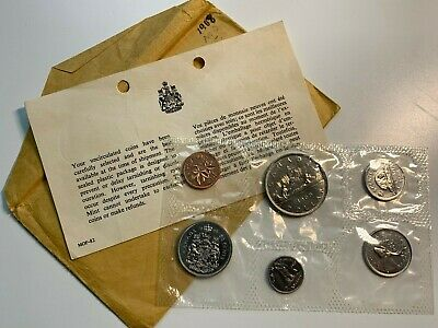 Canada 1968 Uncirculated Proof-like Coin set Royal Canadian Mint