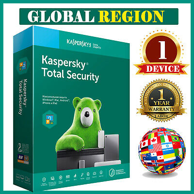 KASPERSKY TOTAL SECURITY  2020 🔥 1 Device 🔥 1 Year Global Region 4.99 eur