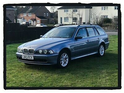 BMW 5 Series 520i SE Touring/Estate Auto Petrol LPG/Gas