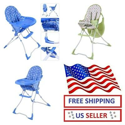 Baby High Chair Convertible Play Infant Booster Toddler Feeding Tray Table Seat