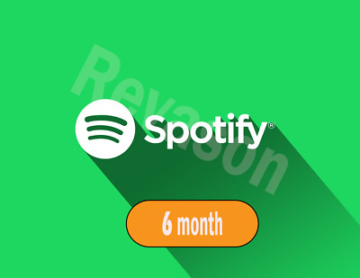 Offer * SPOTIFY PREMIUM FOR YOUR GUARANTEED ACCOUNT 6 Months / REV