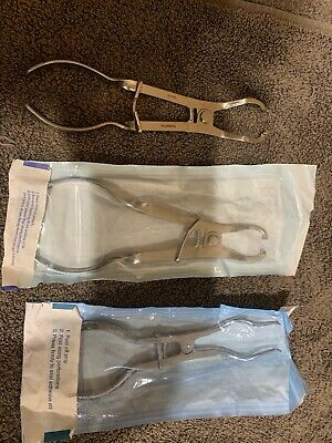 Rubber Dam Forceps 3 total