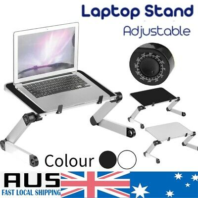 Adjustable Portable Laptop Table Stand Lap Lazy Sofa Bed Tray Notebook Desk