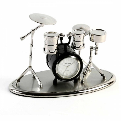 Wm Widdop Miniature Clock - Drum Set