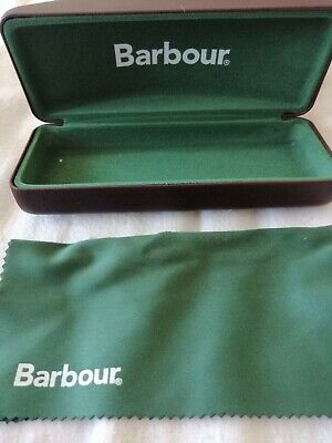 Barbour Glasses Case with Box amd wipe