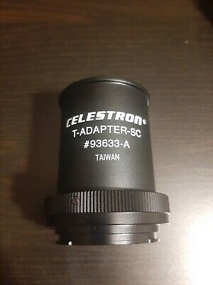 Celestron T-adapter  93633-A - Use for Schmidt-Cassegrains
