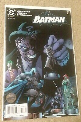 Batman #619 Hush 2nd second print signed by Jim Lee 198/499