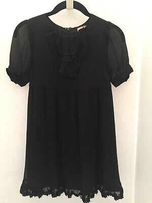 Juicy Couture Girls Dress, Black, Size 10