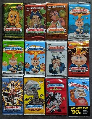 Garbage Pail Kids-MIXED PACK LOT-2003-2019-TOPPS Trading Cards-NEW-SEALED-GPK