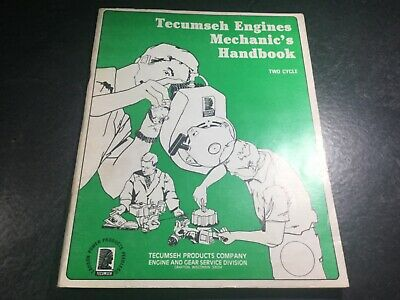 692508 Tecumseh Technician's Handbook for 2-Cycle Small Engines Outboards Manual