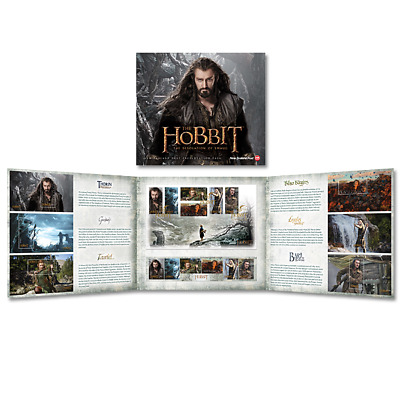 The Hobbit New Zealand 🇳🇿 Presentation Pack 2013 The Desolation of Smaug MINT