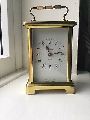 Bayard 8 Day French Carriage Clock by Duverdrey & Bloquel Working Order
