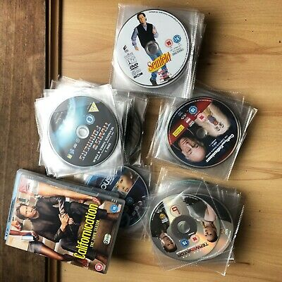 170+ TV DVDs Bundle (Seinfeld, Curb, Sex and the City, The Office, Spaced, more)