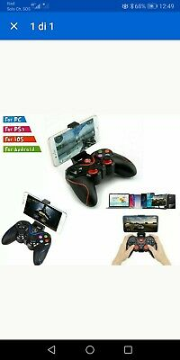 Controller Joystick Wireless Smartphone Ios Pc Android Game Pad Bluetooth Ps3