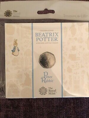 2019 Beatrix Potter Peter Rabbit 50p Coin Pack - BU sealed from Royal Mint