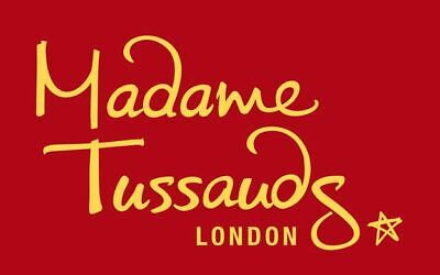 2 X e-tickets to Madame Tussauds Friday 21st February 2020 at 4pm