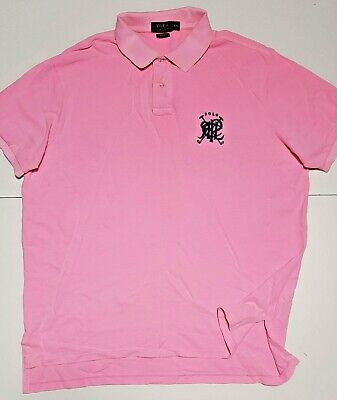 Mens Ralph Lauren signature Polo branded original designer plain polo shirt -XXL