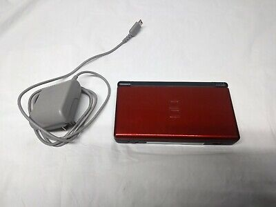 Nintendo DS Lite Handheld Console - Red With Charger