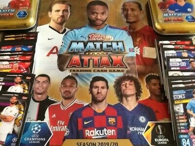 Match Attax 19/20 2019/2020 100 Club Limited Mvp Motm Legends Full Sets & More