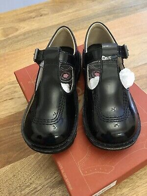 Girls T Bar Patent Leather Kickers Size 13 Excellent Condition, Worn Twice