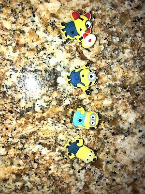 Minions Croc Charms Set Of 4