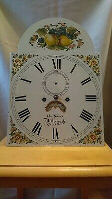 Antique 8 Day Painted dial  longcase  movement