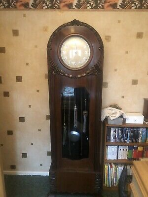 grandfather clock Art Deco Long Case