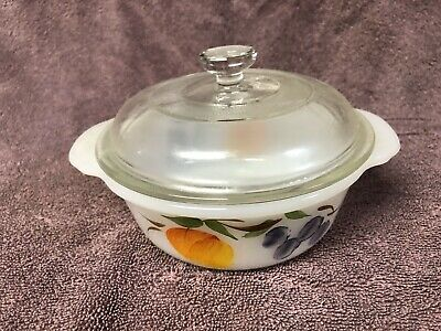 Vintage Anchor Hocking Pyrex Dish With Lid