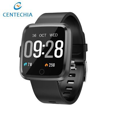 Smart watch IP67 Waterproof Fitness Tracker Heart Rate Monitor Blood Android IOS