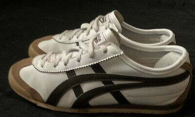 ONITSUKA TIGER Mexico 66 trainers HL202 white A1 condition Size UK 6 EU 40