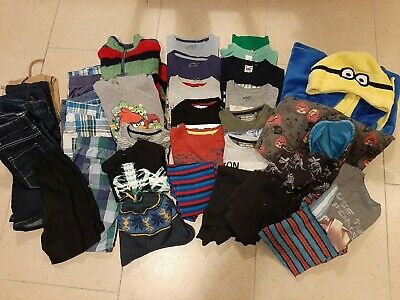 Boys Clothing Bundle 33 items Age 7-8 Includes Next, M&S, John Lewis