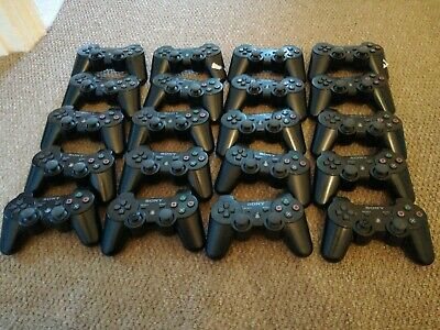 20x Sony DualShock 3 PS3 SIXAXIS PlayStation Official Controllers (Job Lot)