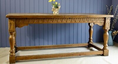 Superb solid Antique French Oak Refectory Table
