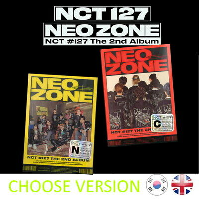 [NEW + SEALED!] NCT NEO ZONE NCT 127 2nd Album Kpop K-pop UK