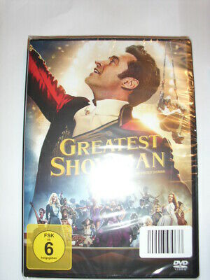 DVD  The Greatest Showman  neu OVP  Weinhnachten Geschenk  Zirkus Barnum